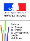 Logo of the French Ministry of sustainable development